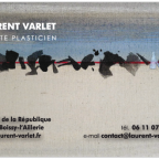 Carte de Visite Laurent Varlet