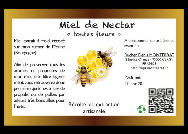 etiquettes miel artesio informatique cergy val d oise 95 78 93 92 75