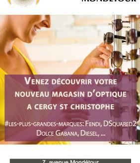 Flyer Centre Optique Mondetour
