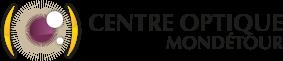 Logo Centre Optique Mondetour avec baseline