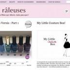 Site web les-raleuses.com