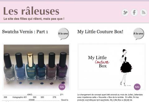 Blog Les Raleuses