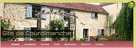 Site Gite de Courdimanche - header
