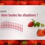 Etiquettes adhesif permanent