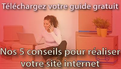 Nos 5 conseils pour la création de votre site internet