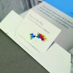 Graphisme Pochette-A4 avec carte de visite
